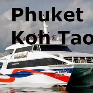 Transfer Phuket Koh Tao