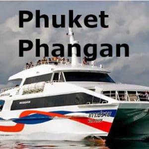 Transfer Phuket Koh Phangan Island