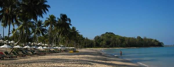 Khao Lak Information - Beach