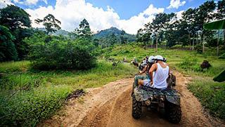 Koh Samui activities - ATV Tours