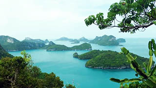 Koh SamuI Tours - Ang Thong Marine Park Tours