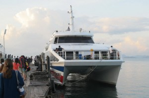 From Krabi to Koh Tao with bus and ferry