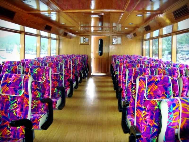 Krabi Ferry - Interior Upperdeck