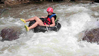 Phuket Activities - River Tubing & Jungle Safari