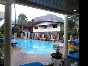 Phi Phi hotel swimming pool
