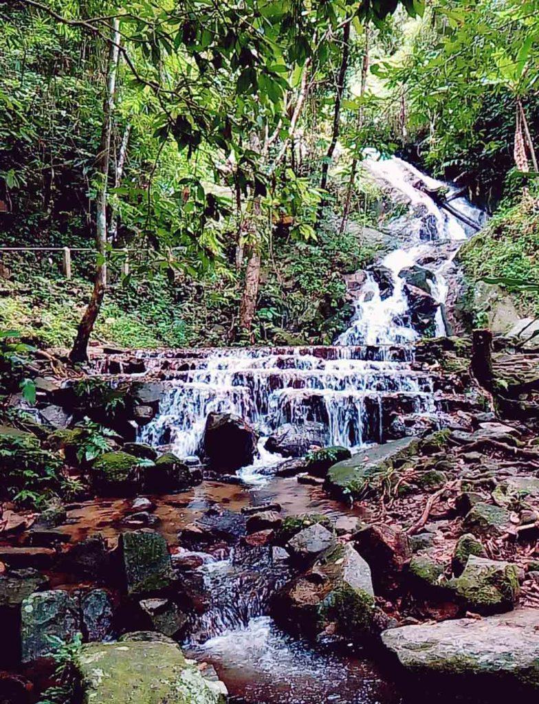 Mae Kampong, Chiang Mai -Waterfall cascades
