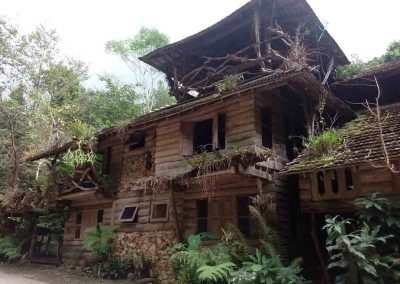 Mae Kampong, Chiang Mai -house in the village