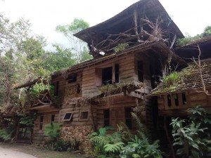 Ban Mae Kampong Tour - house in the village of Mae kampong