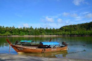 Koh Tarutao - Longtail boats