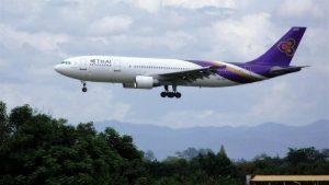 Chiang Mai ,International Airport - Thai Airways Airplane
