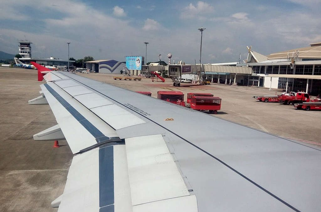 Chiang Mai ,International Airport - arrive at the airport