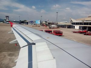 Chiang Mai Airport - arrive at the airport