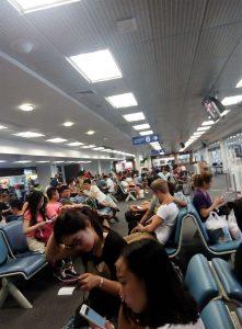 Chiang Mai ,International Airport - depature area