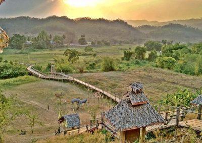 Chiang Mai - Mae Hong Son - Tong Pae bridge