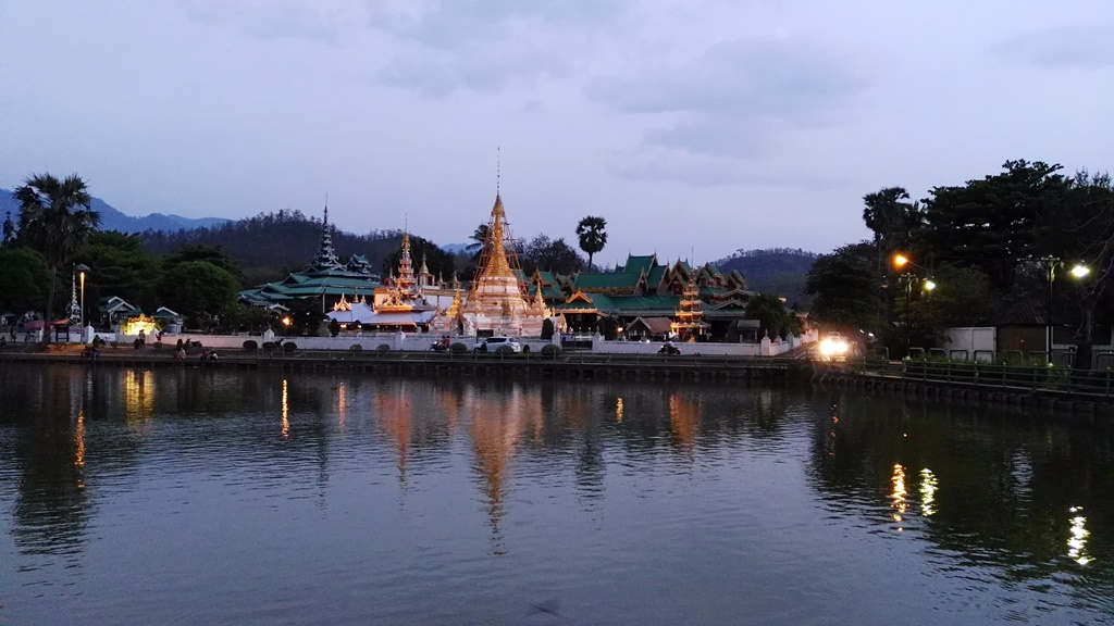Chiang Mai - Mae Hong Son - Wat Phra Tat Si Chom Tong
