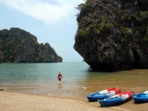 Koh Talabeng Beach and Kayaking