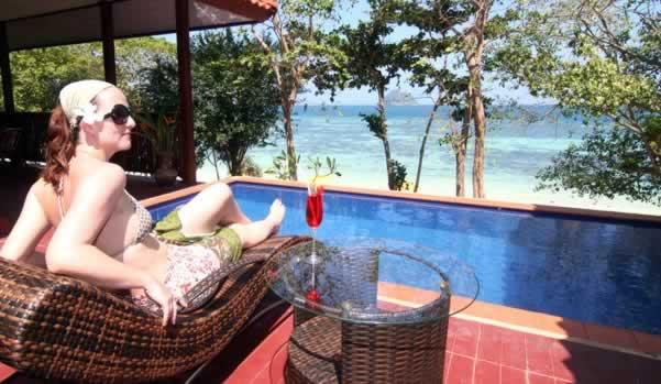 Phi Phi Natural resort - Pool Villa pool