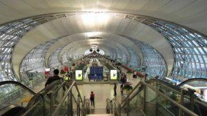 Suvarnabhumi Airport gate E