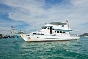 Thailand Game Fishing Boat