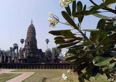 Si Satchanalai, historical park - khmer temple