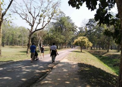 Si Satchanalai, historical park- walkway