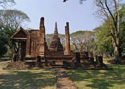 Si Satchanalai, historical park- wat nang phaya