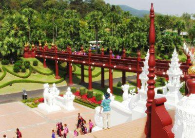 chiang mai, royal flora ratchaphruek - bridge