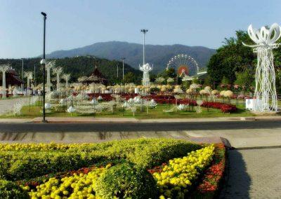 chiang mai, royal flora ratchaphruek - garden