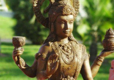 chiang mai, royal flora ratchaphruek - indian statue