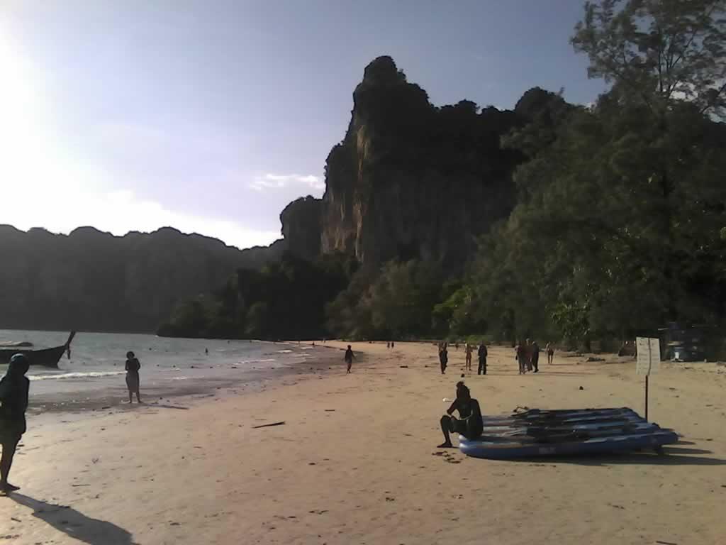 West Railay Beach in Krabi Thailand