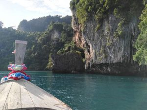 On the way to Phi Leh Lagoon