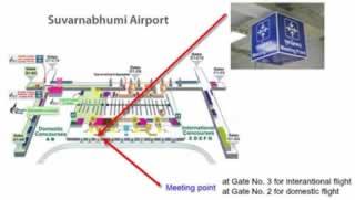 Bangkok Airport Transfer Meeting Points - Suvarnabhumi Airport