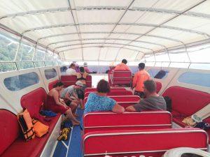 Snorkeling Surin Islands - At the Speedboat