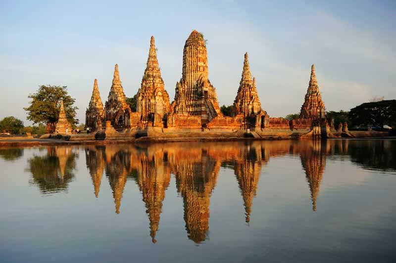 Bangkok Ayuthaya Tours t Wat Chai Watthanaram - Easy Day Thailand Tours