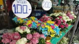 Bangkok Flower Market