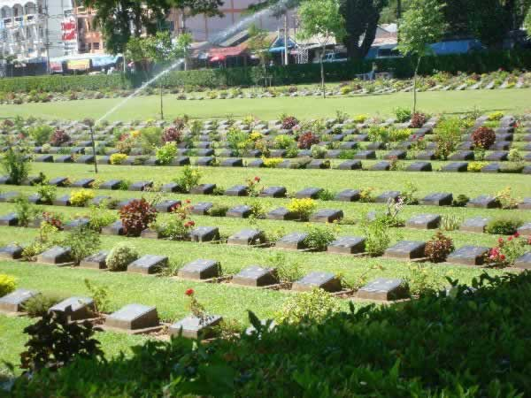 War Cemetery - Kanchanaburi