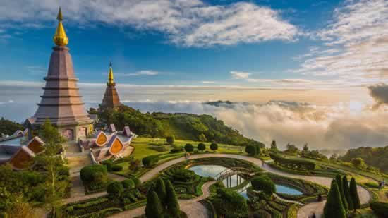 Doi Inthanon, Chiang Mai, Thailande