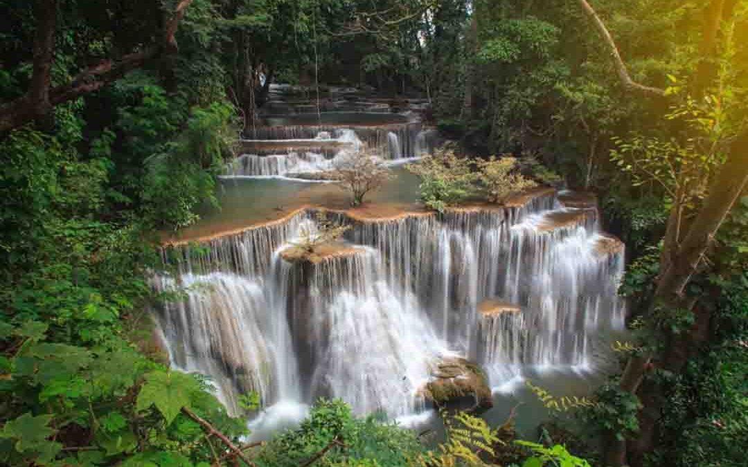 Huay MaeKamin - Srinakarin Dam National Park