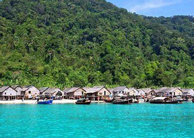 Moken Village Surin Island