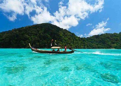 Surin Island Longtail Boat