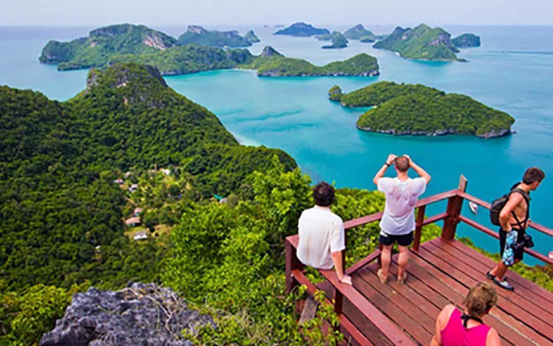 Wua Ta Lap viewpoint - Mu Ko Ang Thong National Park