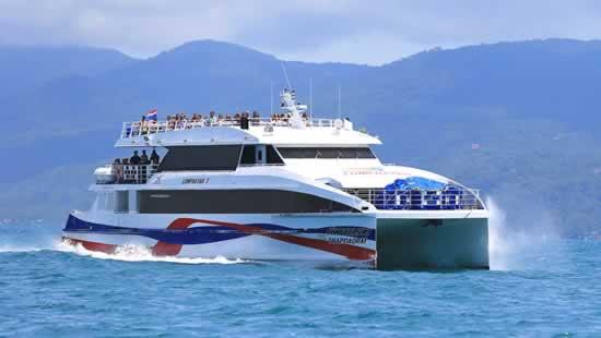 Krabi to Koh Samui via Minibus & Ferry