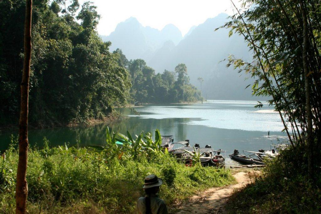 Cheow Lan Lake aka Khao Sok Lake