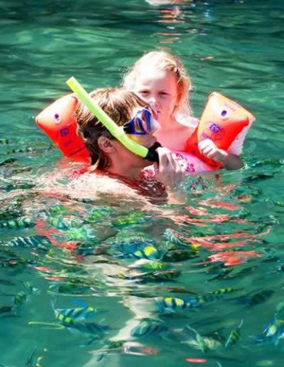 Koh Lanta 4 Islands Tour - Snorkeling with kids
