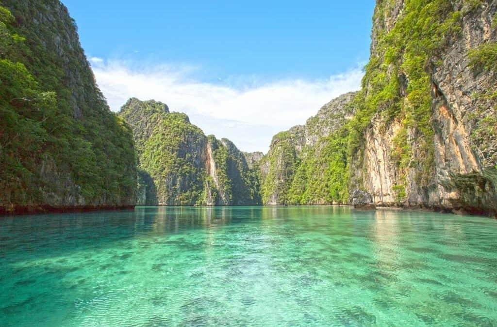 Pileh lagoon in Phi Phi Island